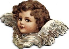Victorian Scrap — Angel (584x420)