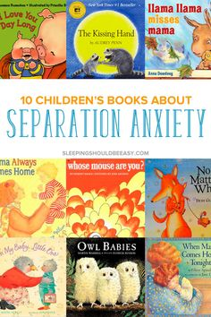 Separation anxiety in kids can be challenging. Read the 11 children's separation anxiety books that will help your child cope. Seperation Anxiety, The Kissing Hand, Anxiety Problems, Read Aloud Books, Anxiety In Children, Young Children, Separation Anxiety In Toddlers, Climate Change, Challenges