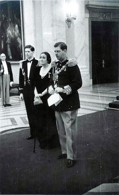 Prince Mihai (later king Mihai I) with his father, King Carol II and his aunt Princess Elisabeth during a special occasion on the Palace; Michael I Of Romania, Romanian People, Romanian Royal Family, Royal Photography, Central And Eastern Europe, Military Photos, Asian History, Royal House, Kaiser