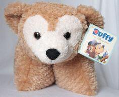 NWT Duffy Disney Bear Hidden Mickey Pillow Pet Pal Dream Friends Parks Exclusive