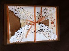 Our Vintage/Fall DIY invites! :  wedding Invitation