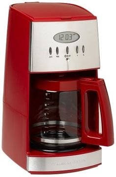 Hamilton Beach Ensemble 12Cup Coffeemaker with Glass Carafe Red *** Continue to the product at the image link.