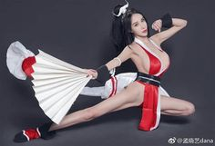 asian cosplay mai shiranui at DuckDuckGo Kawaii Cosplay, Cute Cosplay, Best Cosplay, Cosplay Girls, Game Costumes, Cosplay Costumes, Asian Cosplay, King Of Fighters, Model Pictures