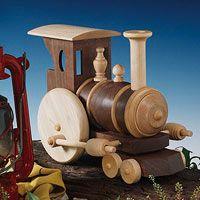 Free Toy Locomotive Woodworking Plan