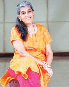 Mrs Selvaraj: an understanding mother, just right for Durga. Ratna Pathak, Durga, Actors & Actresses, Pop Culture, Bollywood, Sari, Indian, People, Woman