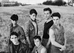 the outsiders, one of my favorite books & movies of the 80s