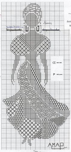 cross stitch and blackwork embroidered african woman Motifs Blackwork, Blackwork Cross Stitch, Blackwork Embroidery, Cross Stitching, Cross Stitch Embroidery, Embroidery Patterns, Cross Stitch Bookmarks, Cross Stitch Charts, Cross Stitch Designs