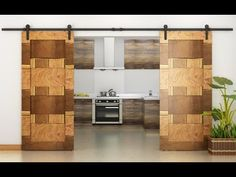 Staged - 30 Sliding Barn Door Designs and Ideas for the Home