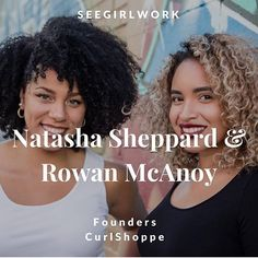 If you haven't already check out our feature on @seegirlwork's site!  #girlboss  ______  Repost @seegirlwork with @repostapp  Founded by Natasha Natty Sheppard and operated with her business partner Rowan Row McAnoy @curlshoppe caters to the natural hair community and curly girls. CurlShoppes brand values lay in knowing that as women our hair is a part of us and is a symbol of our character. The duo buy most of their supplies in Canada manufacture in small batches in Canada and ship with…