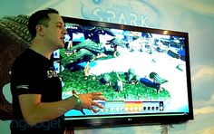 Project Spark lets you build the game, add character with Kinect (eyes-on)