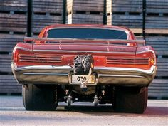 1966 Pontiac GTO Dragster