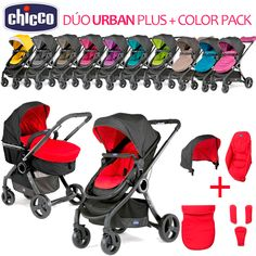 Dúo URBAN Plus Chicco 2016 + Color Pack
