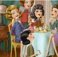 Nina de San Illustrations - A real tea party in England Animation, Tee Kunst, Girls Tea Party, Creation Photo, Tea Art, Illustrations, Cute Illustration, Art Drawings, Whimsical