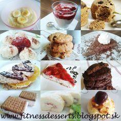 Máte chuť na niečo sladké? Vyskúšajte tieto recepty na zdravé fitness dezerty! fitnessdesserts.blogspot.sk
