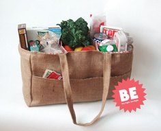 Buy Right. Eat Right. Shopping Bag