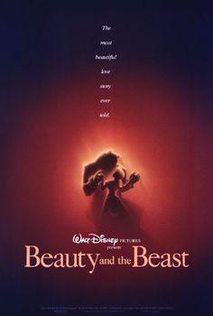 Walt Disney Pictures - Beauty and the Beast Movie Poster - artwork by John Alvin Disney Movie Posters, Disney Films, Disney Pixar, Disney Wiki, Disney Mickey, Walt Disney Pictures, Film D'animation, Film Serie, Disney Love