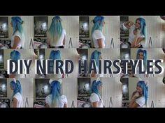 DIY NERD HAIR (Anime/Elf) | ChickRightHere - YouTube
