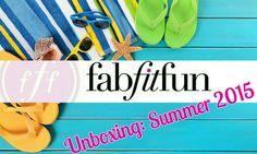 FabFitFun Summer 2015 | Unboxing & First Impressions!