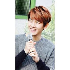 Exo baekhyun ❤ liked on Polyvore featuring exo