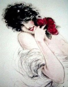 ~by Louis Icart ~*We love art at Renaissance Fine Jewelry. Celebrate all  of life's moments www.vermontjewel.com. We treasure the knowledge we gain from the gift of artistic legends.