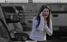 USA Today compiled and located the hard data about gun violence in the United States. For example, 88 people die from guns every day in the USA.