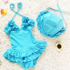 Baby Girl One Piece Swimwear Variety of Colors