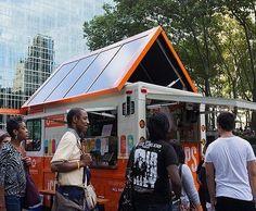 Solar Powered Ice Cream Van