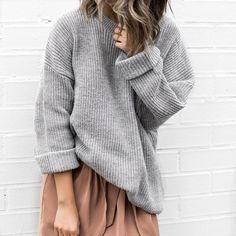 Knit & dress combo ✌️