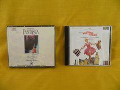 Walt Disney's Fantasia Remastered Original Soundtrack, Sound of Music CD, RCA