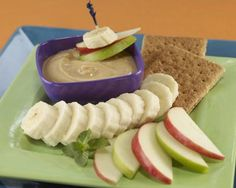 Snacking? This Caramel Maple #Yogurt Dip #Recipe from thedailymeal.com looks good for #breakfast! #CADairy