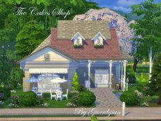 The Cakes Shop by Guardgian at TSR via Sims 4 Updates