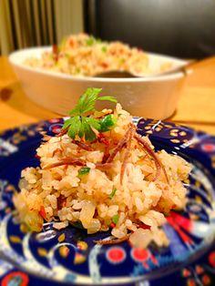 【レシピ】コンビーフとドライトマトの焼き飯