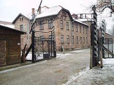 Indgangen til Auschwitz