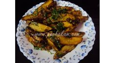 Tasty Chilli Potato Wedges With Honey With Step by Step Pictures