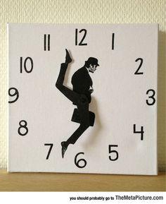 Silly Walks Wall Clock
