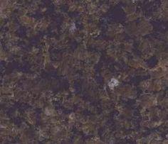 Tropic Brown Silk Finish spazzolato: granito marrone scuro, pietra a grana media verde