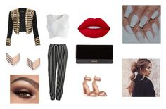 """""""HIGH-FASHION"""" by ani-arakelian on Polyvore featuring Gianvito Rossi, Glamorous, Chicwish, Balmain, FOSSIL and Lime Crime"""