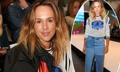 Pip Edwards turns heads at Perth Fashion Festival in bizarre outfit