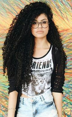 Long natural hair www.addisonrenee.com                                                                                                                                                      More