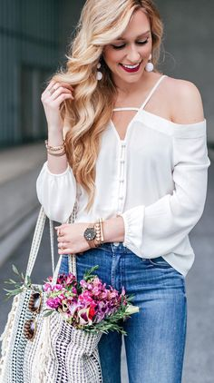White blouse under $30