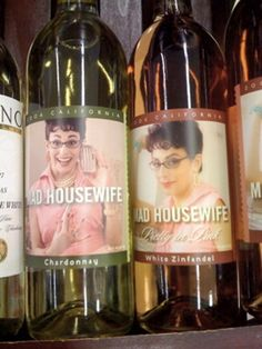 Mad Housewife Wine  -  Hmmm….wonder if it's any good?