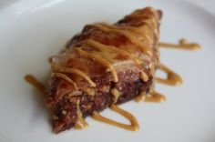 Peanut Butter And Jelly Baklava -- PB time!! Perfect post comp meal. Fantastic.
