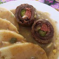 Klasický španělský ptáček Snack Recipes, Cooking Recipes, Snacks, Czech Recipes, Ethnic Recipes, Bulgarian Recipes, Bulgarian Food, Ham, Kitchens