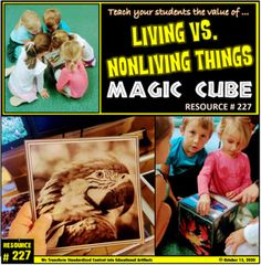 living vs. nonliving things… SURPRISE YOUR STUDENTS WITH A STUNNING LASTING EDUCATION ARTIFACT IN YOUR CLASSROOM. THIS awesome MAGIC CUBE WILL BRING YOUR ENTIRE CLASS TOGETHER INSTANTLY. Guaranteed!!! Classroom Games, Science Education, Cube, Students, Bring It On, Magic, Teaching, Children, Awesome