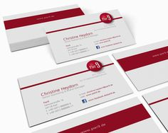 Geschäftsausstattung Visitenkarten, Grafikdesign, Kunde: Pier9
