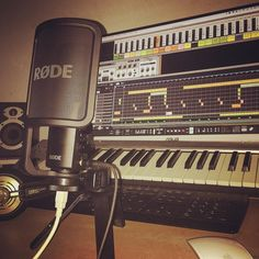 Little recording session with @rodemic @propellerheadsw @revealsound  . . #producer #pop #edm #edmnation #edmfamily #vocals #vibe #lifestyle #music #artist #musician #passion #release #goodvibes #instagood #instalike #followme #studiotime #apple #macmini
