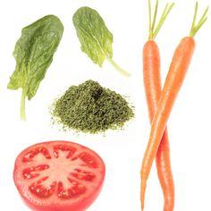 Spinach, Carrots, Tomato, Tablespoon Olive Oil + Marjoram = Healthy Skin - Fitnessmagazine.com