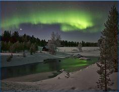 Aurora Borealis Inari, Finland