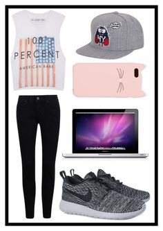 """#194 chill outfit"" by xjet1998x ❤ liked on Polyvore featuring The Laundry Room, NIKE and Kate Spade"