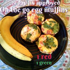 21 day fix recipe breakfast on the go egg muffins